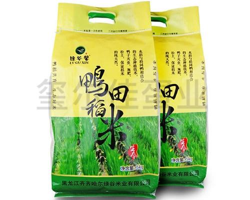 生态稻鸭米多少钱